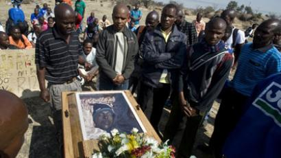 Victory is mine: S. African miners rejoice after murder charges dropped