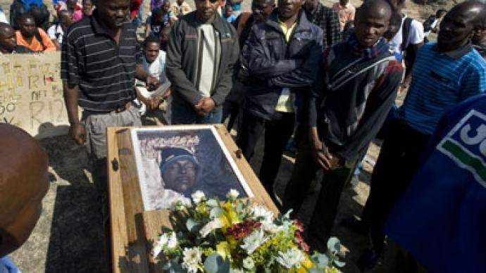 South African miners charged with murder of 34 colleagues killed by police