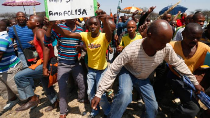 Two dead in fresh South African platinum violence