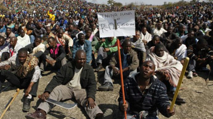 Thousands of S. Africans protest 'Apartheid'-like violence (PHOTOS)