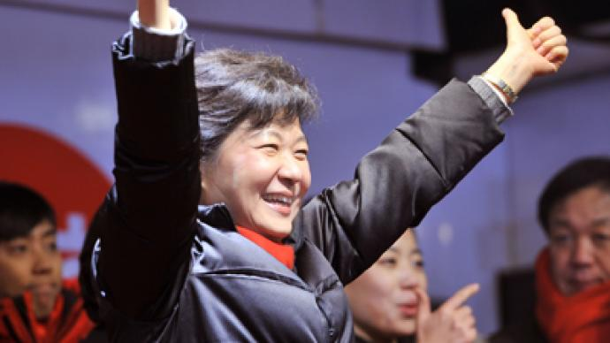 South Korea elects first female president, daughter of ex-dictator