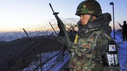 "N. Korea rears up for ""sacred war"""
