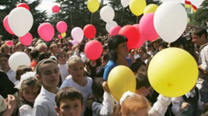 South Ossetia marks 20 years of independence