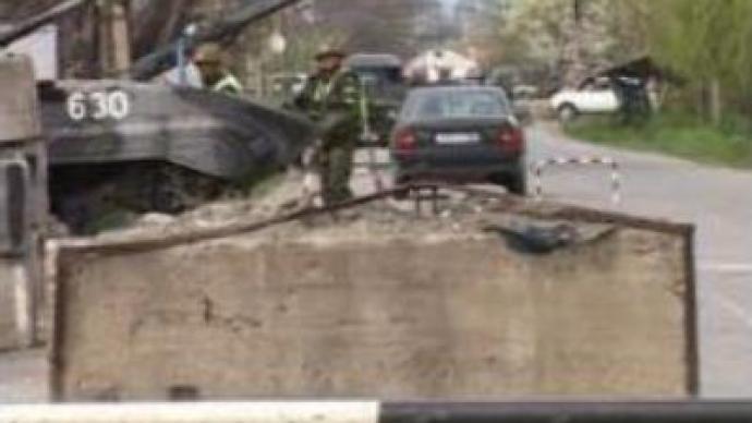 South Ossetia: Gunfire in capital