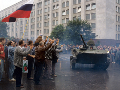 Panic and anger of Moscow '91 - anticipating democracy