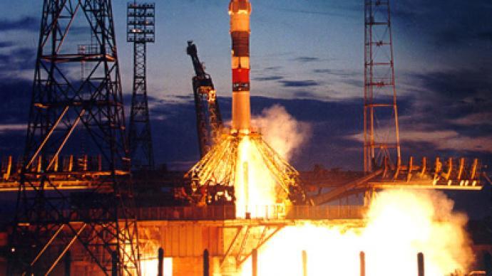 Soyuz TMA-21 crew blasts off from Baikonur Cosmodrome