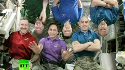 ISS crew returns to Earth