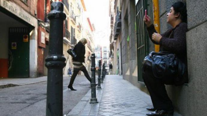 Banking services withdrawn: Madrid escorts declare sex war