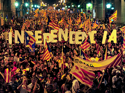 Voices of 'Independencia': Pro-separatism parties win in Catalonia