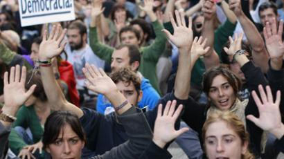 Thousands of Spanish students march for third day against cuts (PHOTOS)