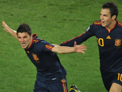 Spain overpowers Paraguay for semifinal spot