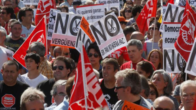 Protests Redux: Spanish unions plan general strike after more mass rallies (PHOTOS)