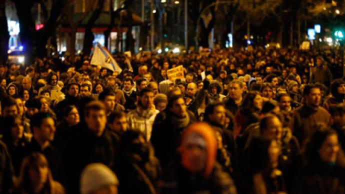 Spaniards outraged by prime minister's corruption denial (PHOTOS)