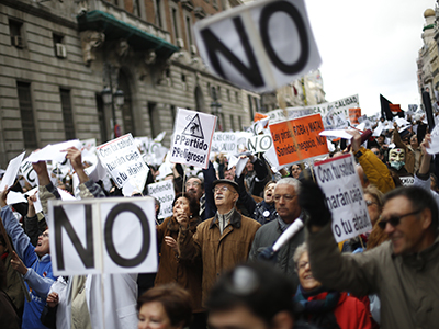 Thousands of Spanish medical workers protest healthcare cuts, privatization (VIDEO, PHOTOS)