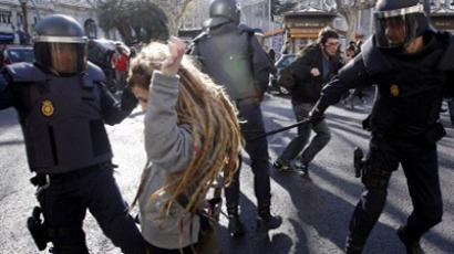 Austerity anger spills into 'Valencia Spring' protests
