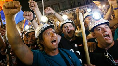 Austerity contrariety: Madrid boils over (PHOTOS, VIDEO)