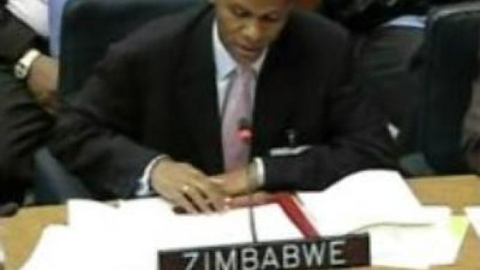 Spat at UN over Zimbabwe