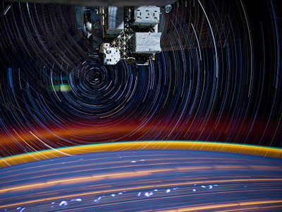 Trailing stars: Mesmerizing photos from Earth orbit