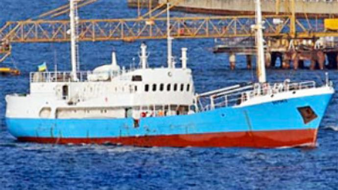 Stinky ship stranded in Black Sea