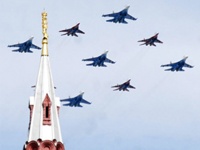 Aerobatic team Strizhi celebrate two decades of wowing the world