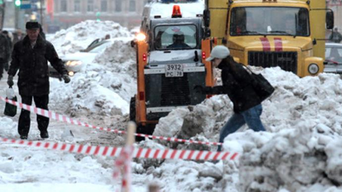 St. Petersburg mulls snow-clearing brigades