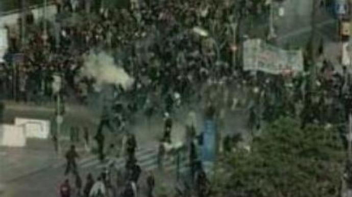 Student protests in Athens: 20 injured, 40 detained