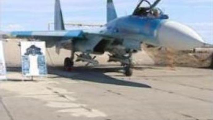 SU-27 fighter jet marks 30