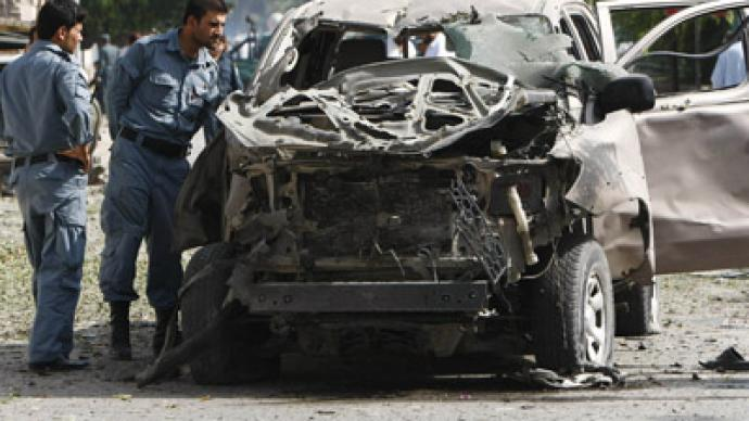 Twin suicide bombings in Afghanistan kill 14, wound over 60