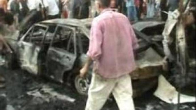 Suicide bombing claims 122 in Baghdad