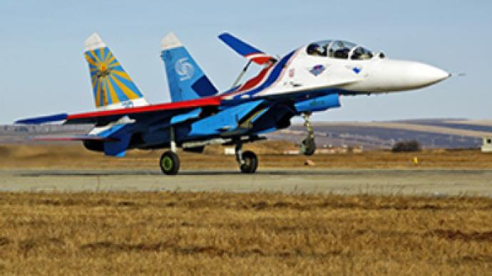 Sukhoi training jet crashes during test flight