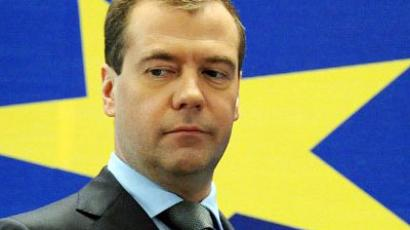 Russia ready to invest in eurozone – Medvedev