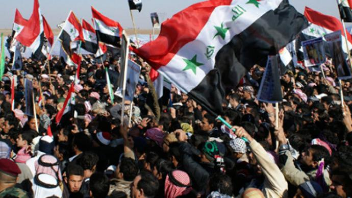 Thousands of Iraqi Sunnis rally against Shia-led government