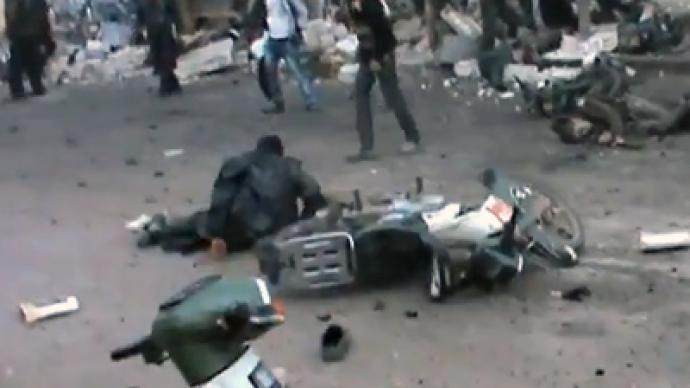 Govt airstrike kills dozens in central Syria – activists