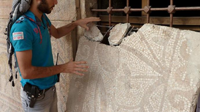 Historic Syrian antiques plundered amid civil war