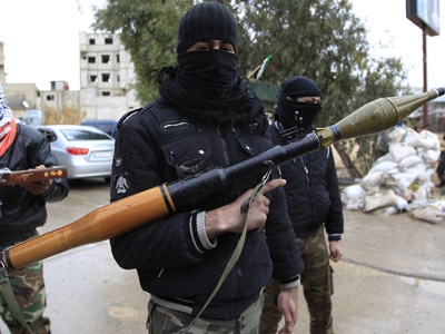 Saudi Arabia arms Syrian rebels via Jordan – report
