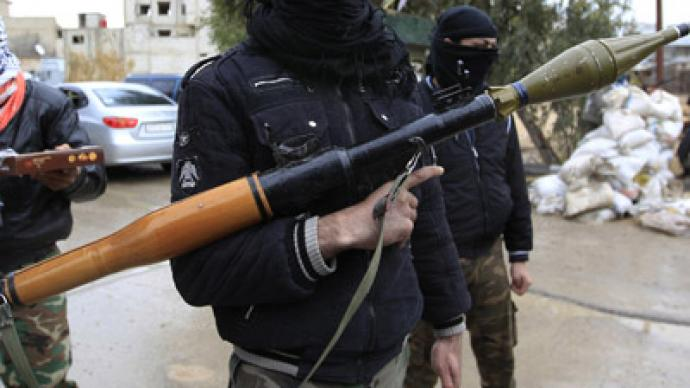 France, US arming Syrian rebels with anti-aircraft missiles – report