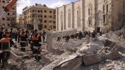 At least 27 killed, over 70 injured in three blasts that rocked Aleppo