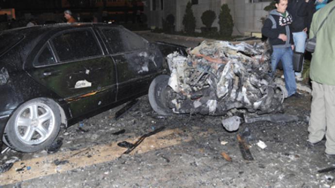Three blasts strike Syrian Interior Ministry in Damascus