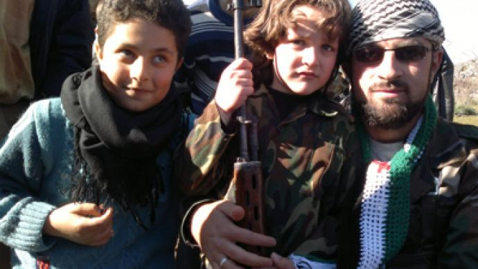Syrian opposition uses child-soldiers – report