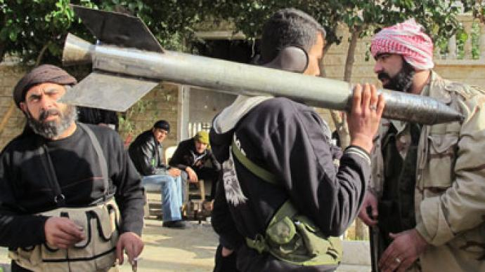Free Syrian Army claims chemical weapons capability