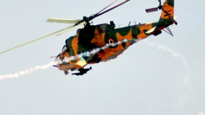 Govt helicopters bombing Damascus districts not confirmed