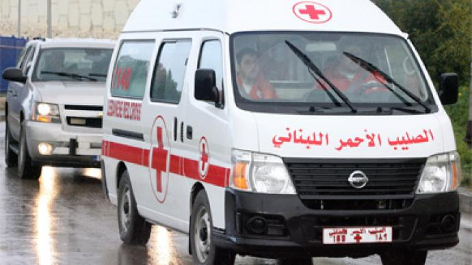 Syria: Red Cross distributes aid, Baba Amr not reached