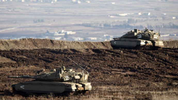 Israel and Syria exchange fire in Golan