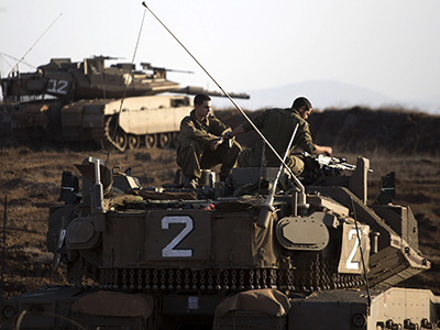 Israel fires 'warning shots' at Syria over Golan Heights mortar strike