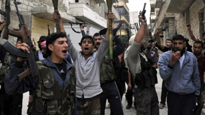Syrian suffering: 'Rebels armed with US-made missiles'
