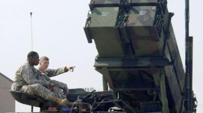 Parts for Patriot missile batteries arrive in Turkey