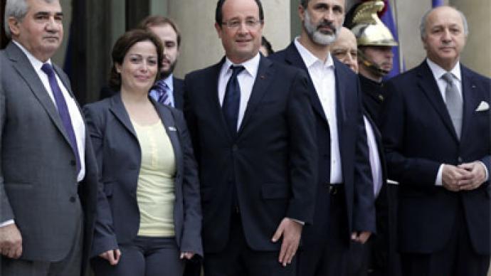 EU follows Italy's move to recognize Syrian opposition coalition