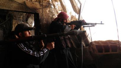 Foreign powers send heavy weapons to 'moderate' Syrian rebels - report
