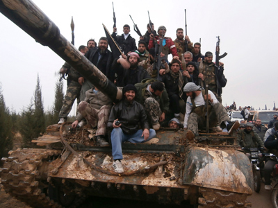 Syrian rebels declare Damascus airport now military target