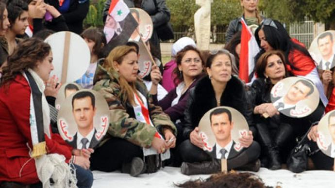 Syrian kills Russian wife for supporting President Assad
